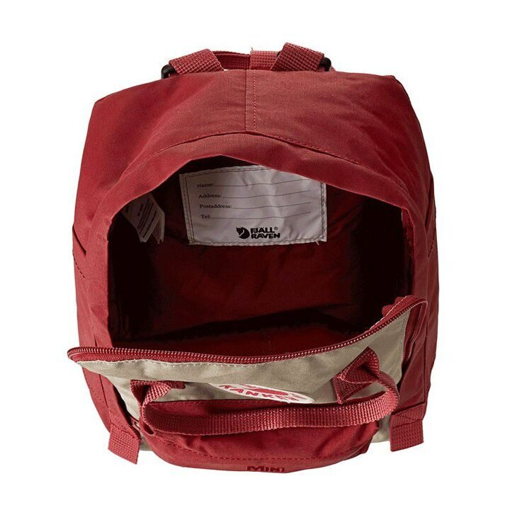 Рюкзак Fjallraven Kanken Ox Red/Putty