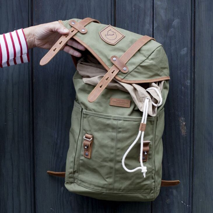 Рюкзак Fjallraven Rucksack No.21 Medium Green