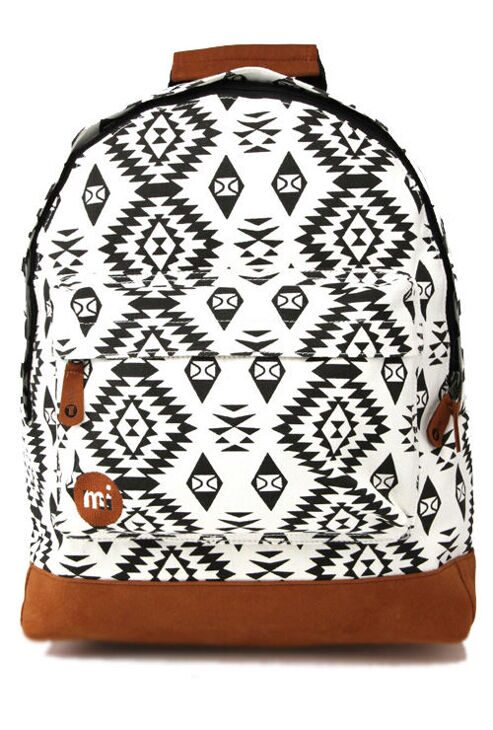 Рюкзак Mi-Pac Native White/Black