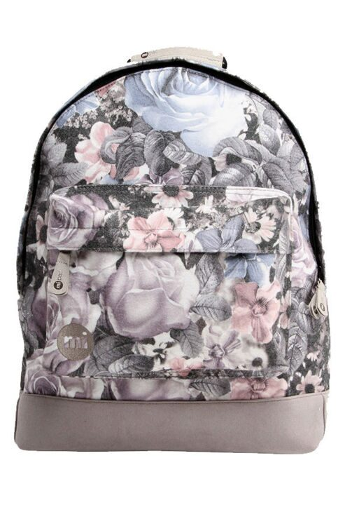 Рюкзак Mi-Pac Premium Floral Felt Winter Light Grey